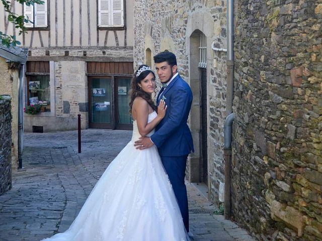 Le mariage de Benjamin et Pauline  à Saint-Ybard, Corrèze 12