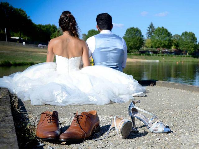 Le mariage de Benjamin et Pauline  à Saint-Ybard, Corrèze 13
