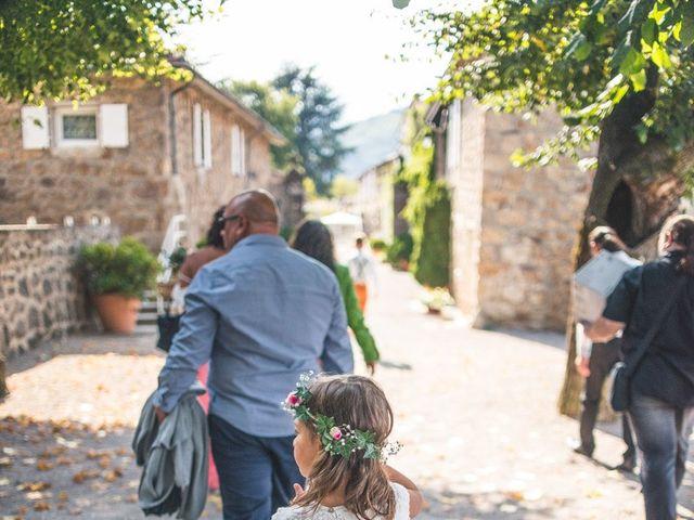 Le mariage de Yann et Amélie à Annonay, Ardèche 43