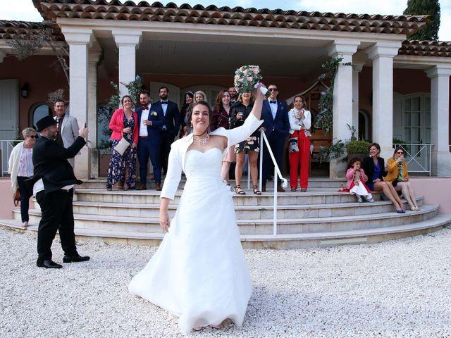 Le mariage de Nicolas et Bérénice à Pierrefeu-du-Var, Var 1