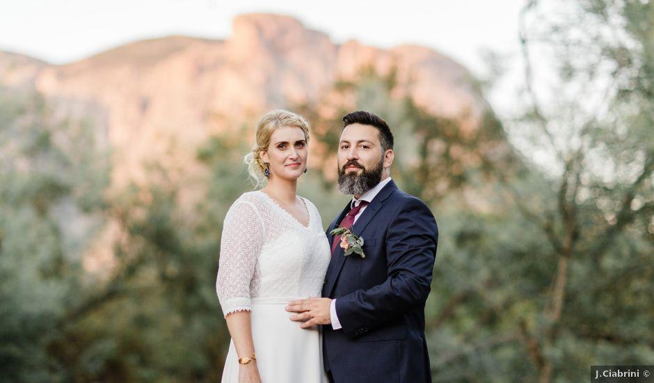 Le mariage de Pierre et Livia à Bastelicaccia, Corse