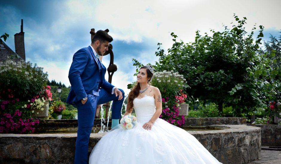 Le mariage de Benjamin et Pauline  à Saint-Ybard, Corrèze