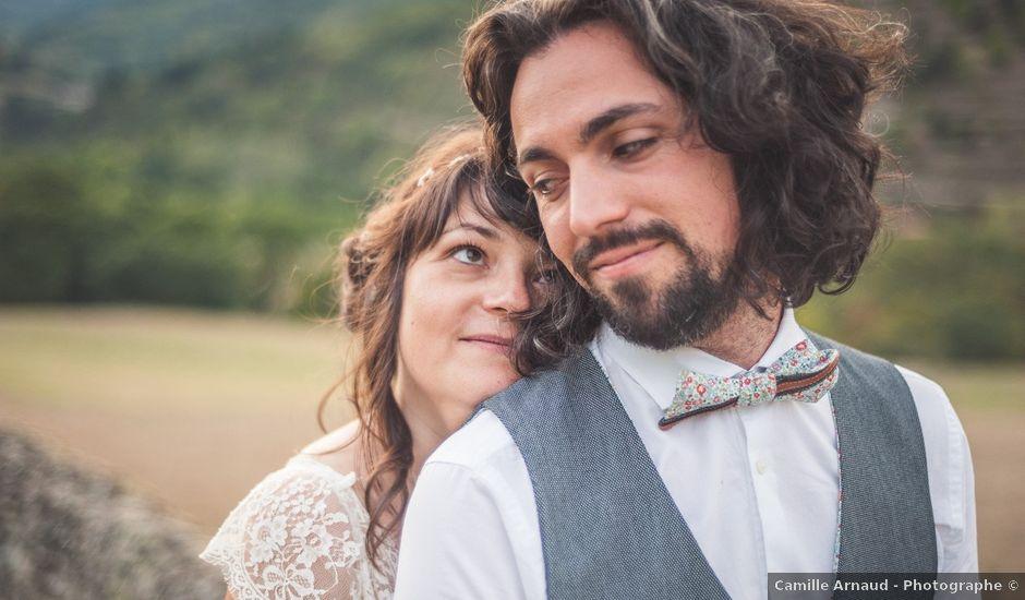 Le mariage de Yann et Amélie à Annonay, Ardèche