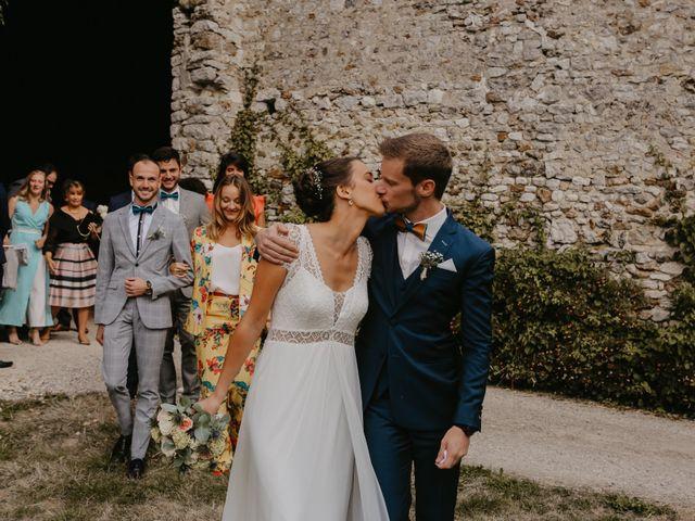 Le mariage de Thibault et Ludivine à Lommoye, Yvelines 11