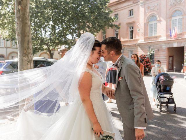 Le mariage de Xavier et Mélanie à Dénat, Tarn 12