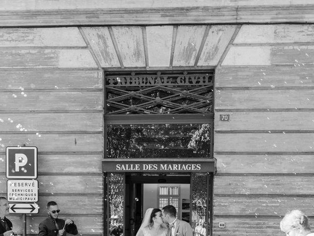 Le mariage de Xavier et Mélanie à Dénat, Tarn 16