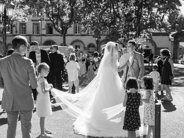 Le mariage de Xavier et Mélanie à Dénat, Tarn 18