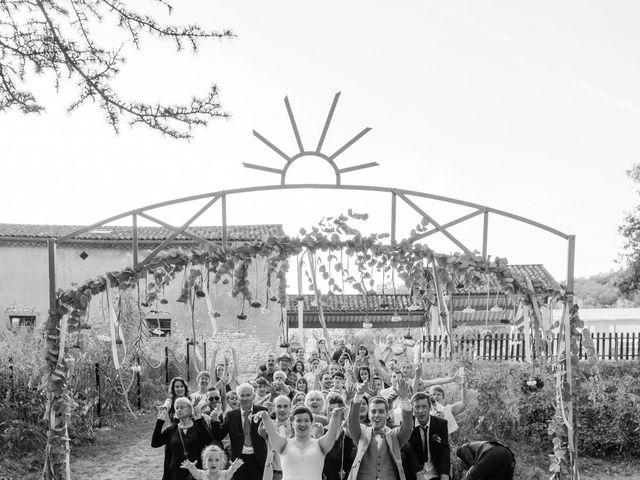 Le mariage de Xavier et Mélanie à Dénat, Tarn 37