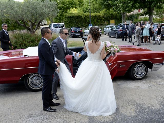 Le mariage de Michel et Coralie à Anduze, Gard 1