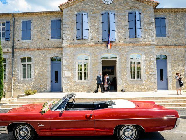 Le mariage de Michel et Coralie à Anduze, Gard 2