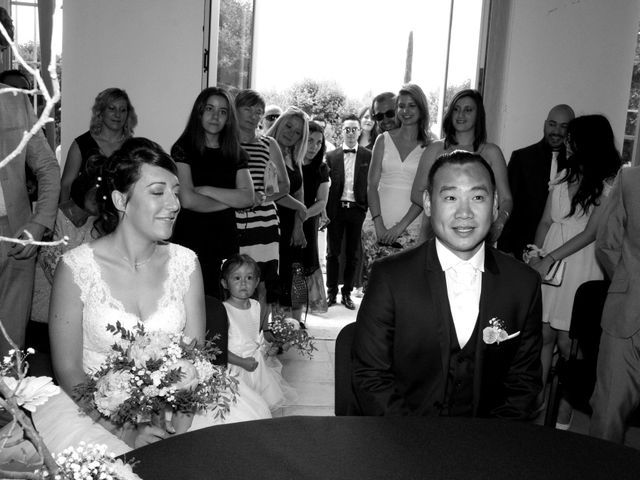 Le mariage de Michel et Coralie à Anduze, Gard 3