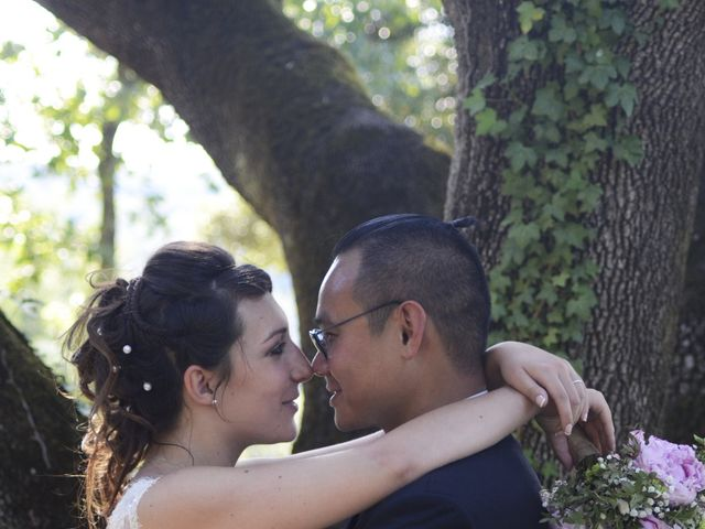 Le mariage de Michel et Coralie à Anduze, Gard 5