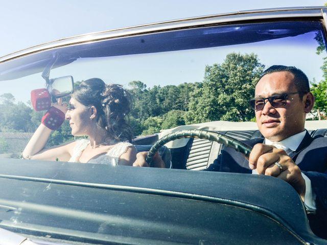 Le mariage de Michel et Coralie à Anduze, Gard 7