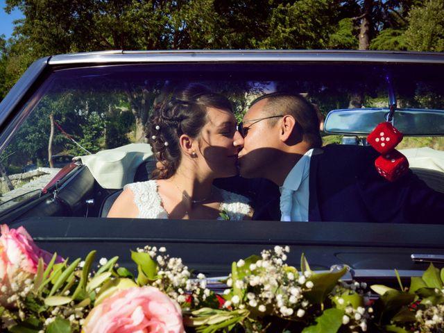 Le mariage de Michel et Coralie à Anduze, Gard 8