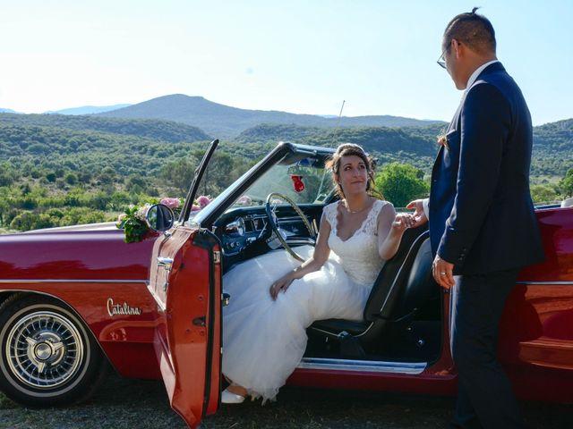 Le mariage de Michel et Coralie à Anduze, Gard 9