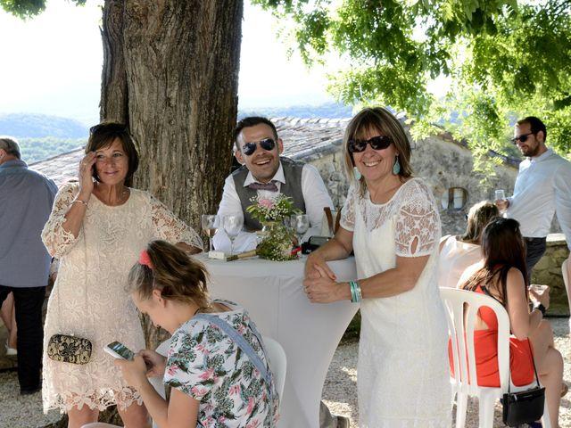 Le mariage de Michel et Coralie à Anduze, Gard 11