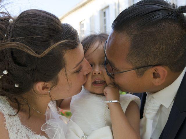 Le mariage de Michel et Coralie à Anduze, Gard 14
