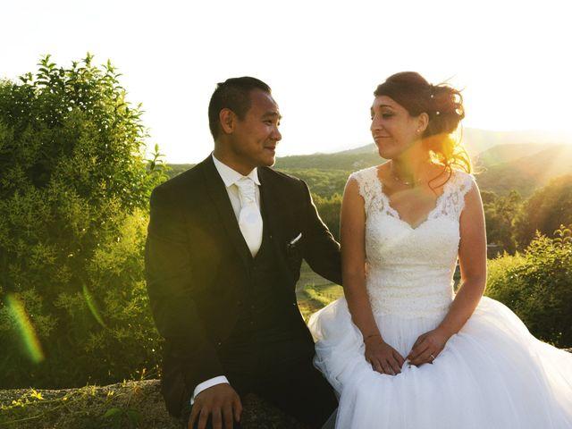 Le mariage de Michel et Coralie à Anduze, Gard 15