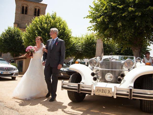 Le mariage de Dylan et Elodie à Anzy-le-Duc, Saône et Loire 1