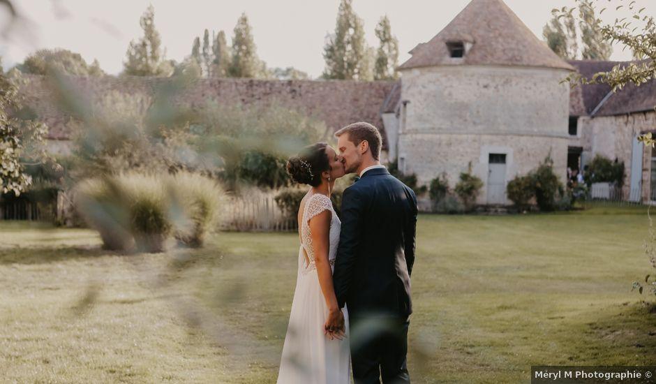 Le mariage de Thibault et Ludivine à Lommoye, Yvelines