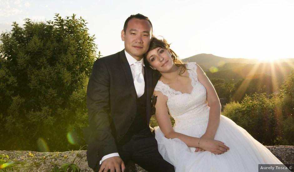 Le mariage de Michel et Coralie à Anduze, Gard