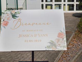 Le mariage de Jessica et Yann 1