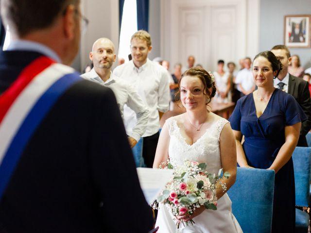 Le mariage de Eric et Angélique à Longué-Jumelles, Maine et Loire 9