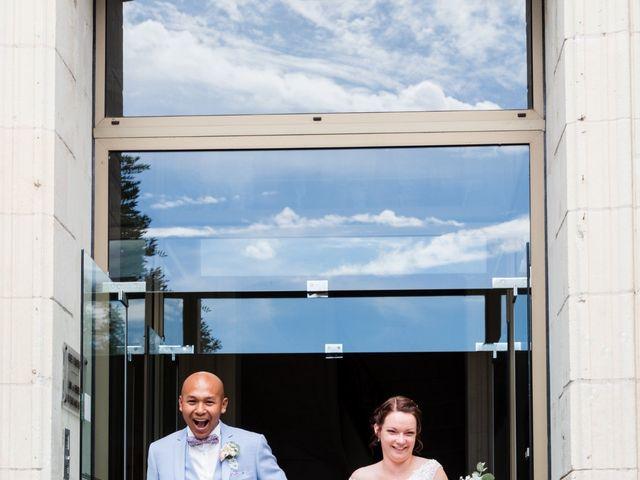 Le mariage de Eric et Angélique à Longué-Jumelles, Maine et Loire 17