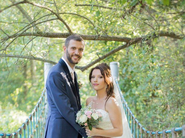 Le mariage de Yann et Jessica à Wiwersheim, Bas Rhin 12