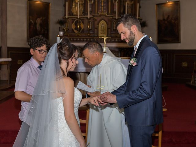 Le mariage de Yann et Jessica à Wiwersheim, Bas Rhin 42