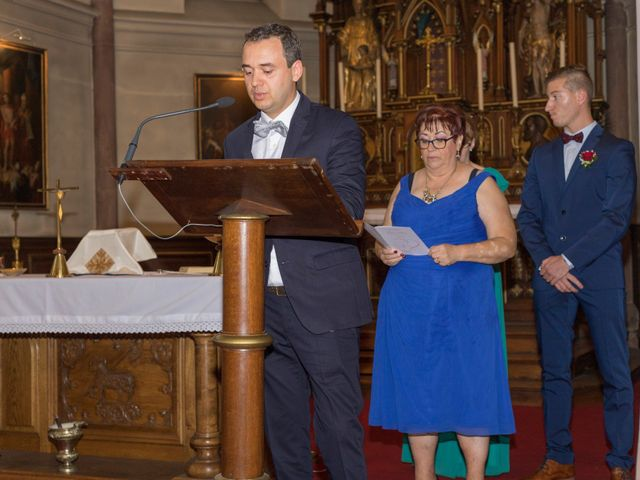 Le mariage de Yann et Jessica à Wiwersheim, Bas Rhin 47