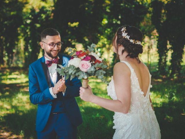 Le mariage de Damien et Marlyse à Cordelle, Loire 35