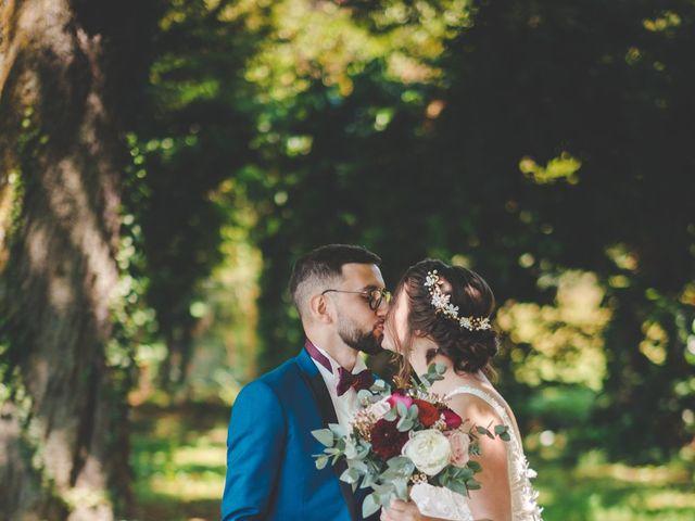 Le mariage de Damien et Marlyse à Cordelle, Loire 37