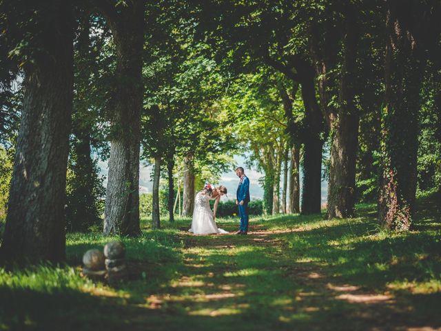 Le mariage de Damien et Marlyse à Cordelle, Loire 40
