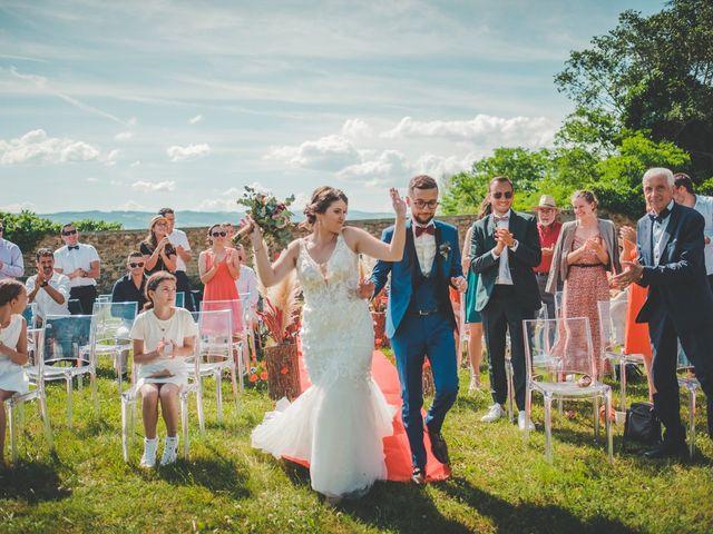 Le mariage de Damien et Marlyse à Cordelle, Loire 54
