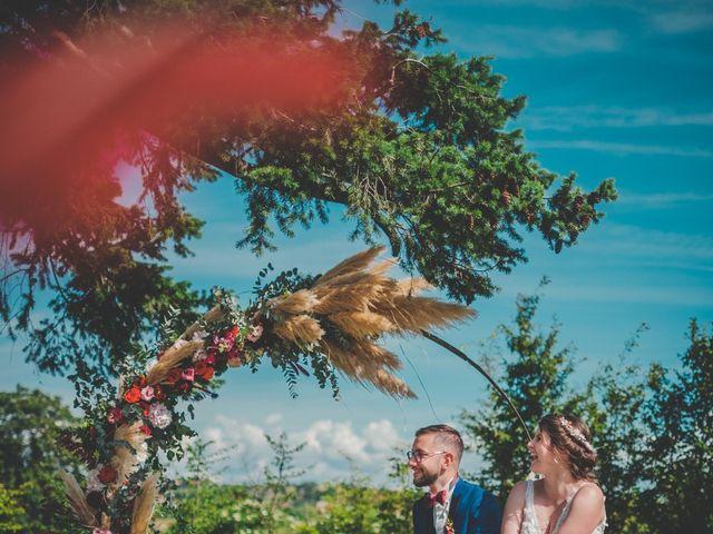 Le mariage de Damien et Marlyse à Cordelle, Loire 1