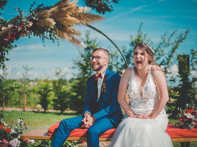 Le mariage de Damien et Marlyse à Cordelle, Loire 59