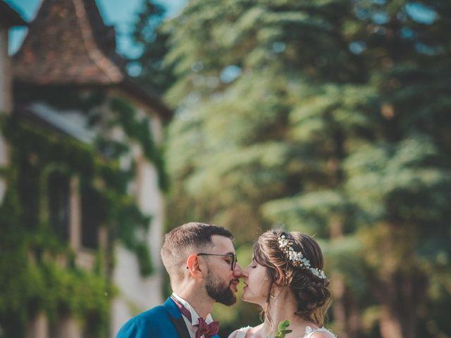 Le mariage de Damien et Marlyse à Cordelle, Loire 80
