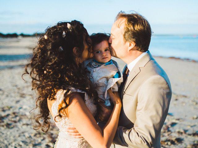 Le mariage de Yves et Gaëlle à Île-Tudy, Finistère 14