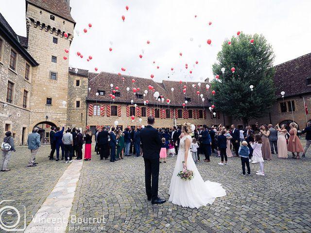 Le mariage de Stefano et Salomé à Neuchâtel-Urtière, Doubs 32