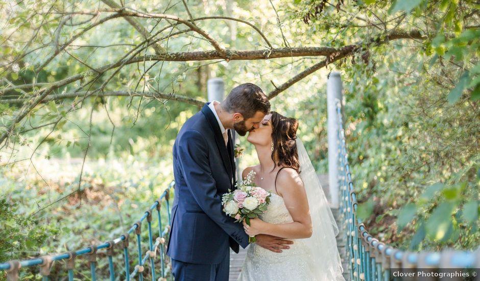 Le mariage de Yann et Jessica à Wiwersheim, Bas Rhin