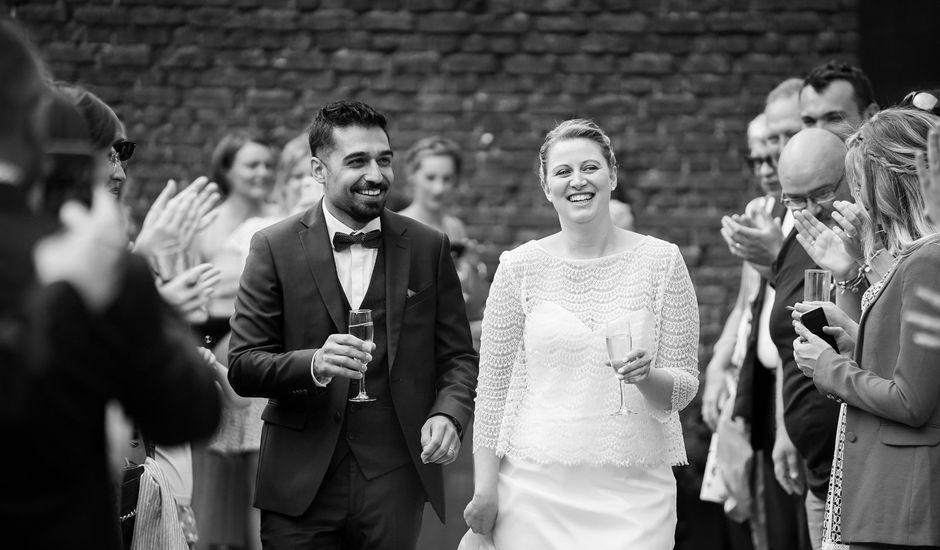Le mariage de Luigi et Adeline à Wattrelos, Nord