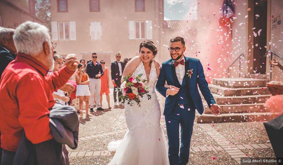 Le mariage de Damien et Marlyse à Cordelle, Loire