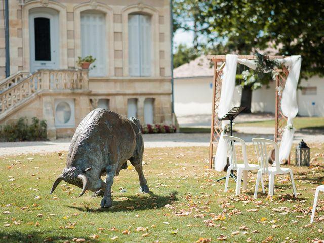 Le mariage de Franck et Justine à Bordeaux, Gironde 7