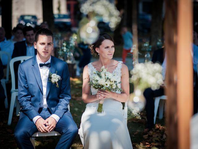 Le mariage de Franck et Justine à Bordeaux, Gironde 24