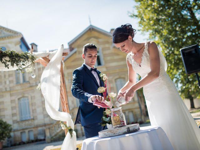 Le mariage de Franck et Justine à Bordeaux, Gironde 33