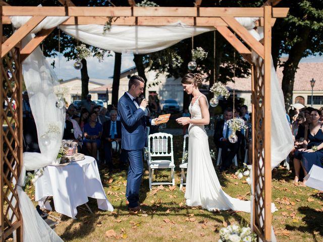 Le mariage de Franck et Justine à Bordeaux, Gironde 36