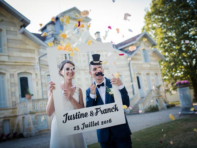 Le mariage de Franck et Justine à Bordeaux, Gironde 70