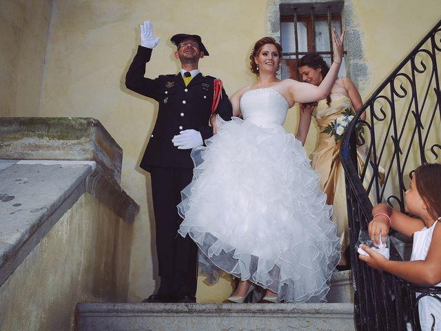 Le mariage de Eric et Carla à Rumilly, Haute-Savoie 10