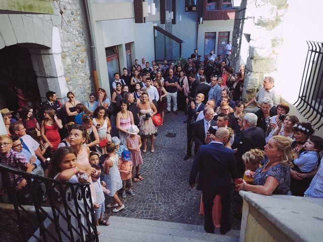 Le mariage de Eric et Carla à Rumilly, Haute-Savoie 15